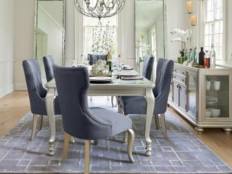 Dining a la Paris Starts with a Silvery Finish