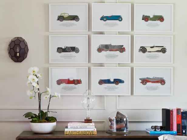 Antique Car Artwork