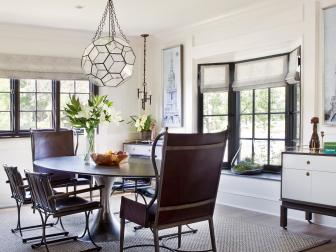 Chic, Bright Dining Room