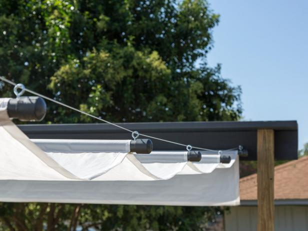 how to build an outdoor canopy hgtv