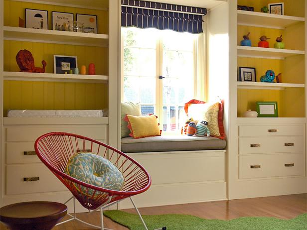 Yellow and Cream  Modern Nursery