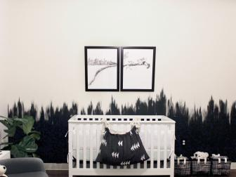 Black and White, Edgy Non-Traditional Nursery