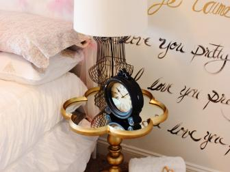 Whimsical Details in Little Girl's Bedroom
