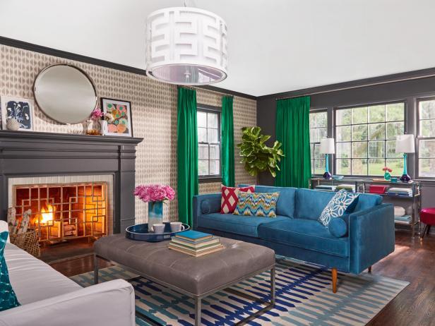 Living Room Makeover TK