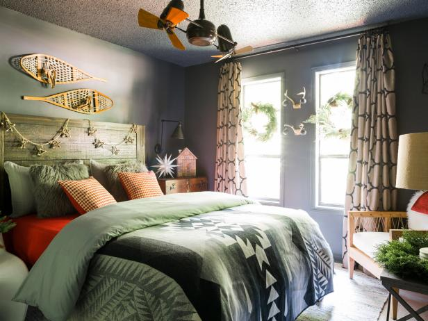 11 Easy Ways To Add Holiday Cheer To Your Bedroom Hgtv