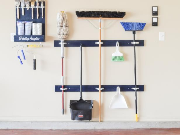 How To Make A Cleaning Tool Holder Hgtv
