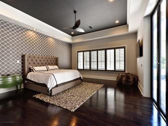 Open and Bright Bedroom is Contemporary