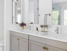 Bathroom Counter Ideas Custom Bathroom Countertop Ideas  Hgtv Design Ideas