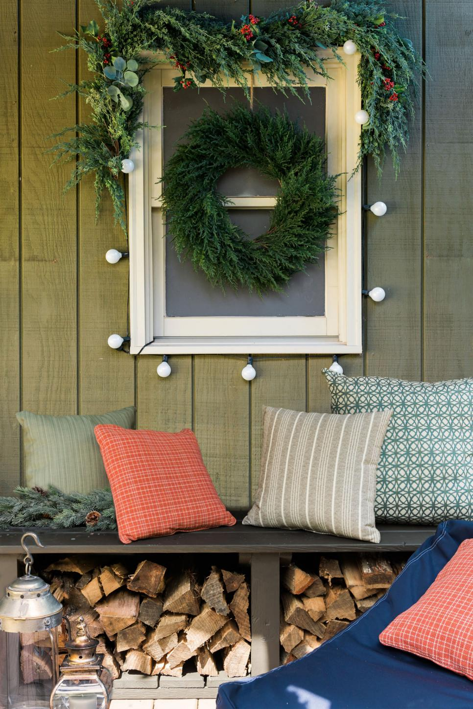 How to Turn Your Front Porch Into the North Pole | HGTV - photo#41