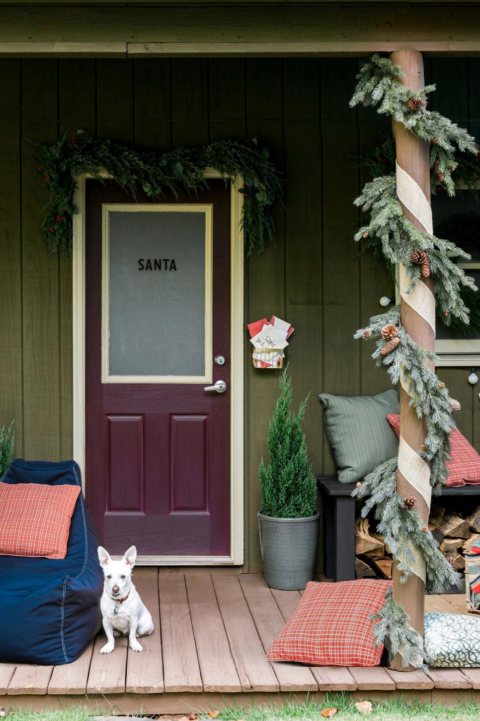 How to Turn Your Front Porch Into the North Pole | HGTV - photo#50