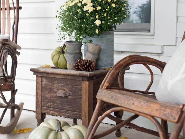 Unconventional Porch Furniture