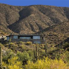 Private, Contemporary Home in the Desert