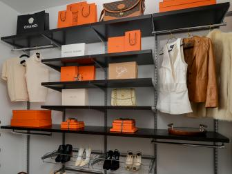Contemporary Closet With Smart Storage Solutions