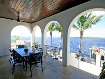 Magnificent Ocean Views from Kitchen and Breakfast Area