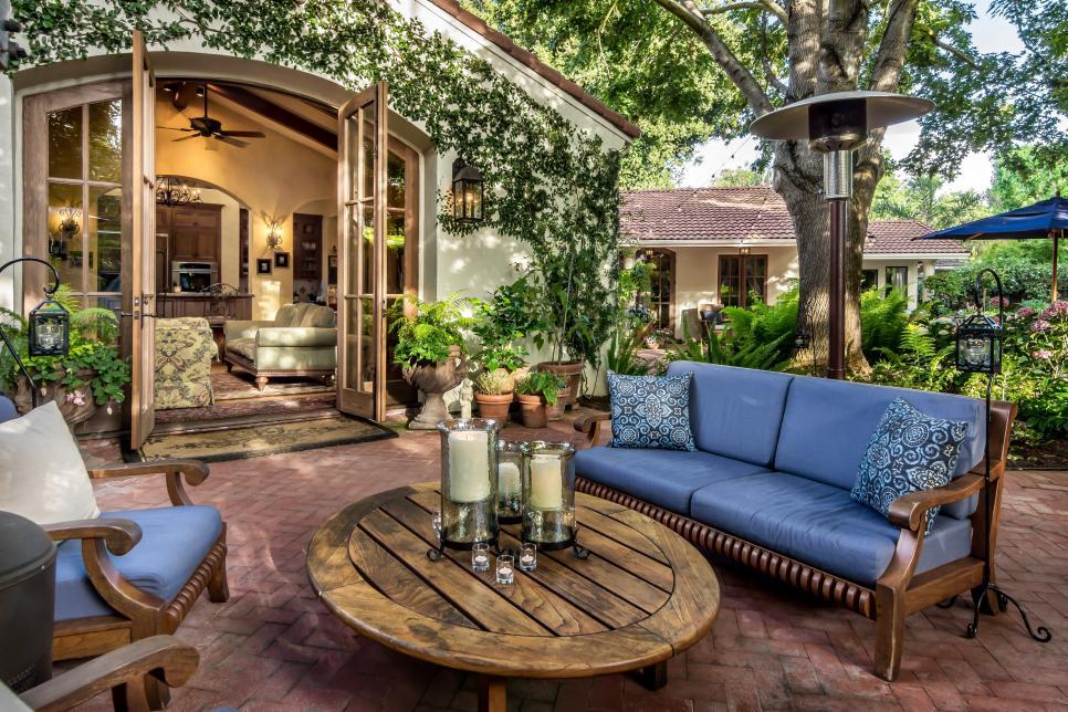 Romantic Tuscan Style Patio Casa Smith Designs Llc Hgtv