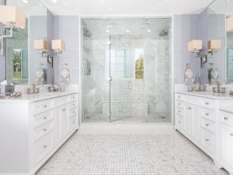 Elegant and Traditional Master Bathroom
