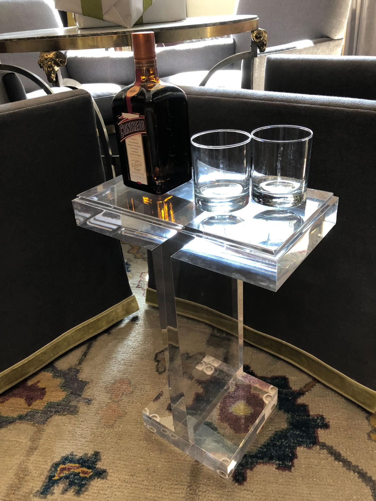 Tiny Drink Tables Are A Trend Hgtv