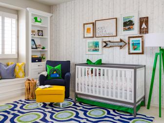 Fun, Kid-Friendly Adventure Themed Nursery