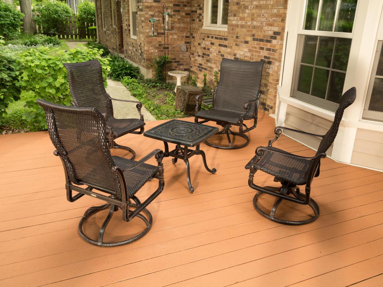 Painted Wood Patio Furniture Patio Small Patio Bench Luxury Furniture Outdoor Garden Regarding