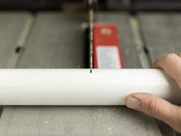 DIY PVC Pipe Privacy Screen: Cut PVC Pipes