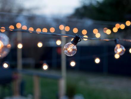 String Of Lights Wo Not Light : 16 Budget-Friendly Outdoor Lighting Ideas HGTV