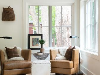 Cozy Reading Nook With Sunny Windows