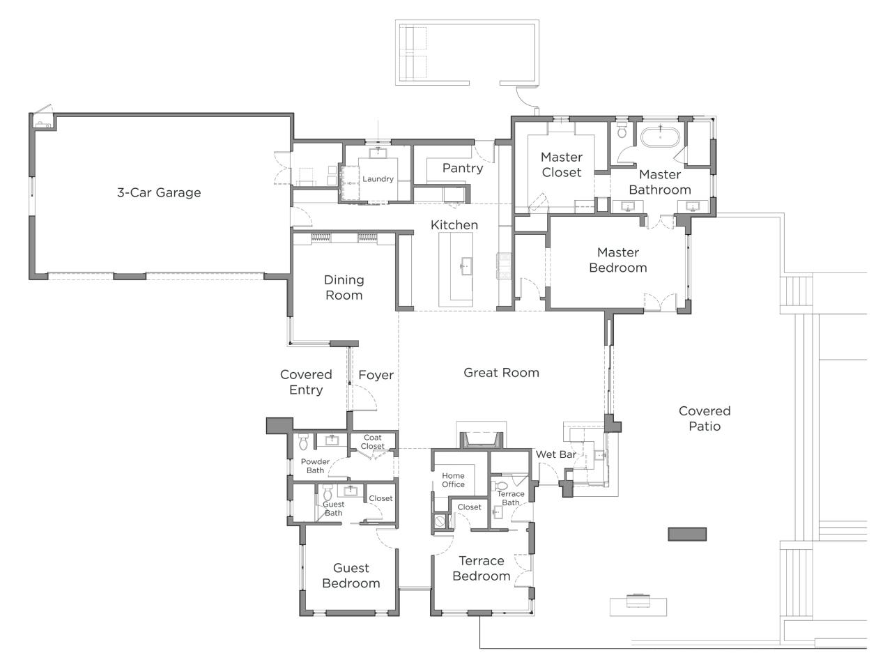 Discover the floor plan for hgtv smart home 2017 hgtv Floorplan com