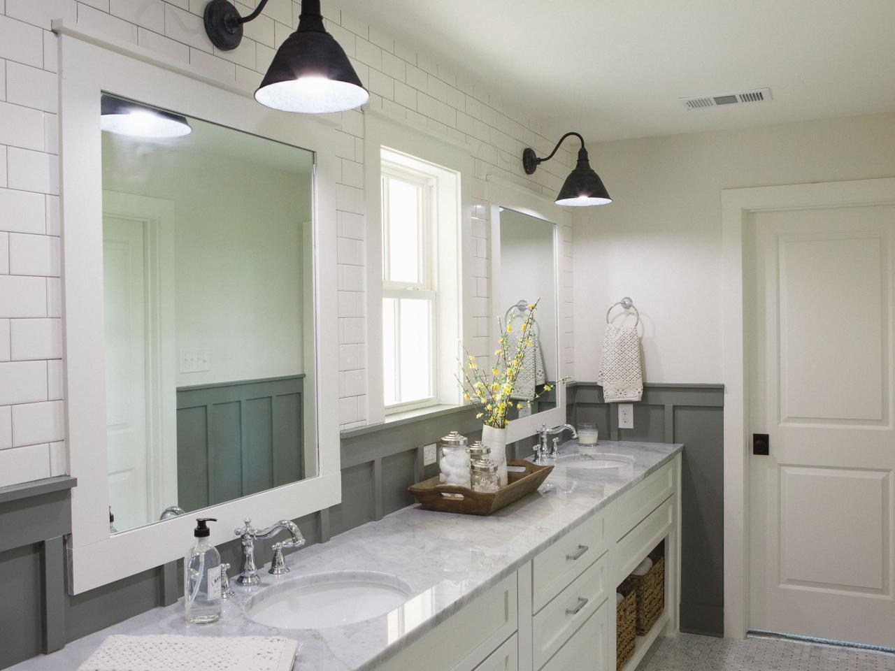 Master Bathroom With Twin Vanities