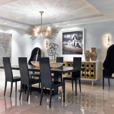Art Deco Dining Room Photos | HGTV