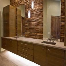 Floating Vanity Cabinets With Lighting Underneath