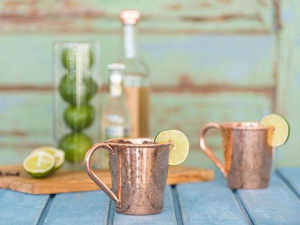 Sertodo Copper Moscow Mule Mugs