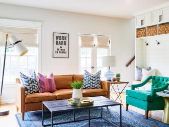 Fun, Durable Living Room