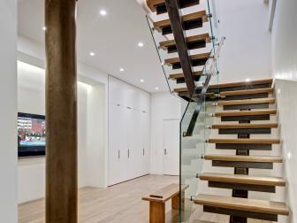 Noho Loft's Floating Staircase