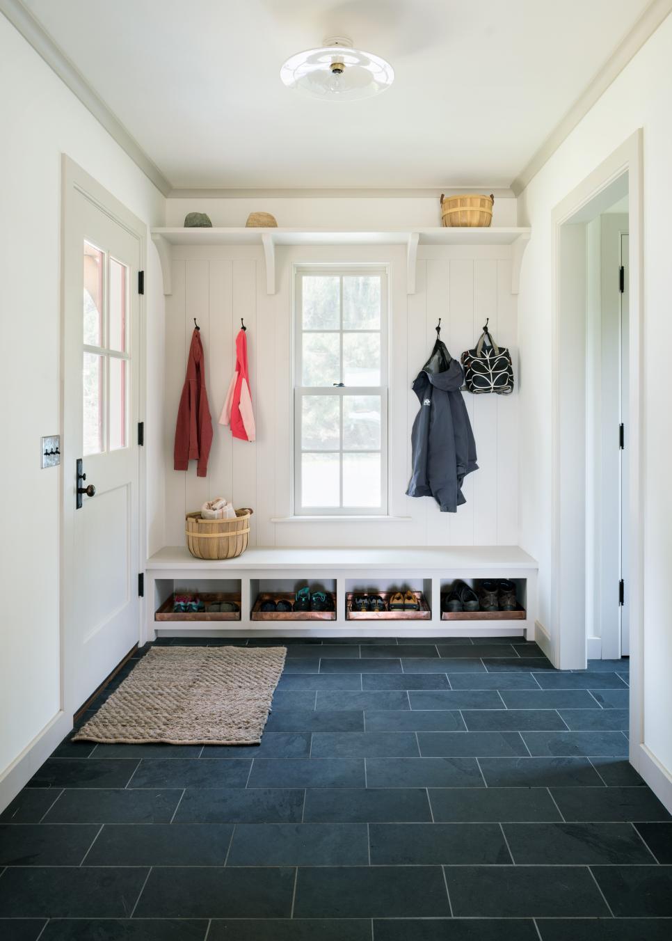 Mudroom Laundry Room Farmhouse