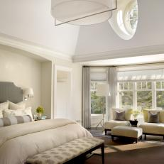 Transitional Master Bedroom white transitional master bedroom photos | hgtv