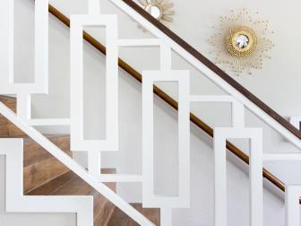 Midcentury Modern Stairway and Bannister