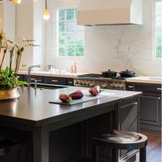 Barstools Help Boost Functionality of Kitchen Island