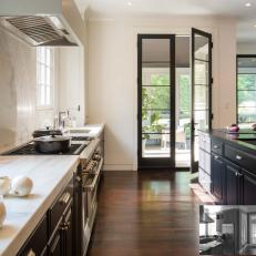 Reconfigured Cabinets Create a Smoother, Cleaner Look in the Kitchen