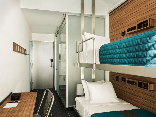 Pod Hotel Room