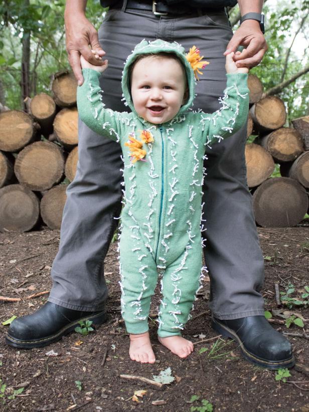 DIY Cactus Costume for Kids