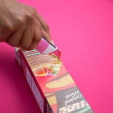 Galvanized Metal Cardboard Box Desk Organizer Cut Cracker Box1
