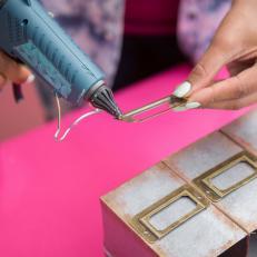 Galvanized Metal Cardboard Box Desk Organizer File Markers3