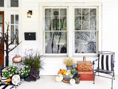 Shop our picks for a haute and haunting Halloween porch.