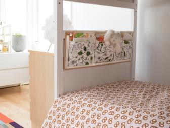 How to Make a Bedside Organizer for a Kid's Room