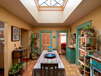 house tour funky southwest style in alabama - Homes Designs Ideas