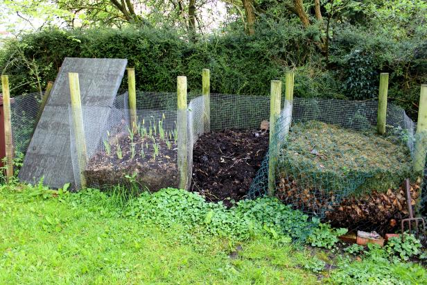Wire Compost Bins