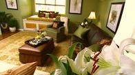 Green Family Room