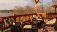 Lakefront Rustic Deck
