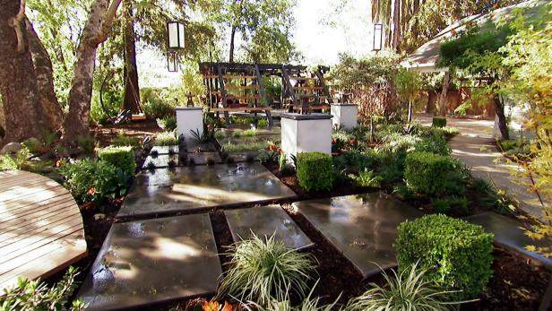 Before And After Modern Minimalist Backyard Makeover Hgtv