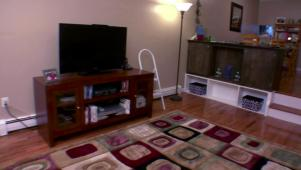 Living Room Organization living room organization | hgtv